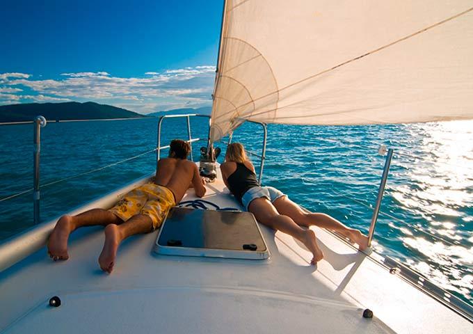 El relax en un Viaje para Navegar en Velero