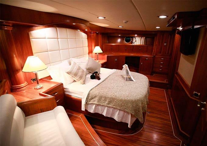 Master Cabin para un Viaje de vacaciones en Goleta