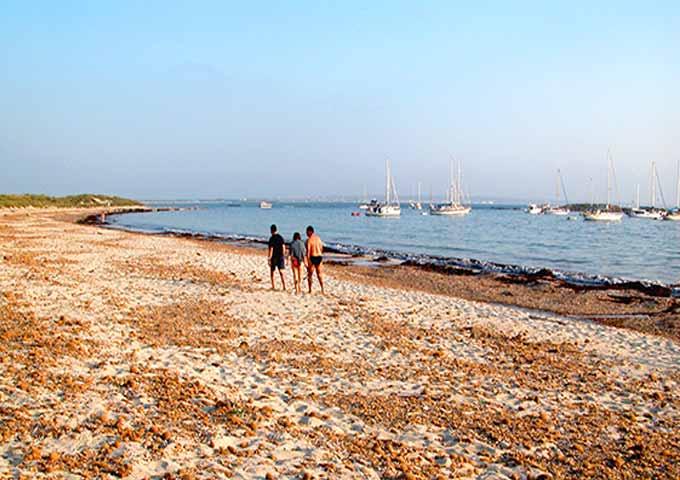Viaje de vacaciones en velero a Ibiza y Formentera - Es Palmador