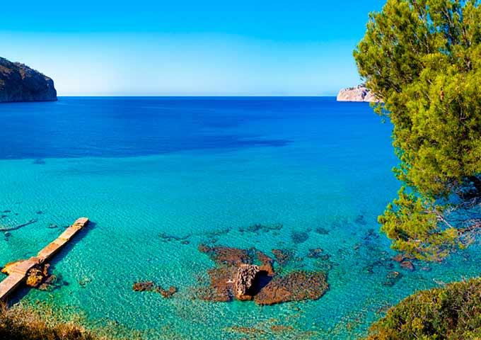 Viaje de vacaciones en velero a Ibiza y Formentera - Portinatx