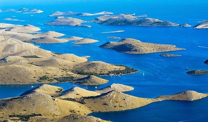 Islas para navegar en Croacia - Islas Kornati