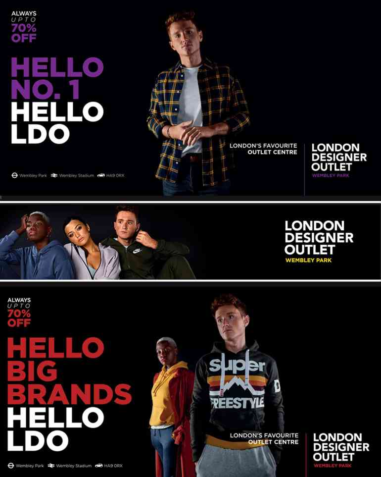 London designer outlet, wembly park, London model, red head model, base modelling agency London, base models, team base, ginger model, tube poster, hello LDO, ollie b model, Oliver Burton model, ollie b, London Underground poster, billboard