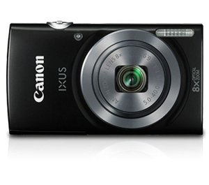 Canon IXUS160 20MP point and shoot digital camera with 8x optical zoom