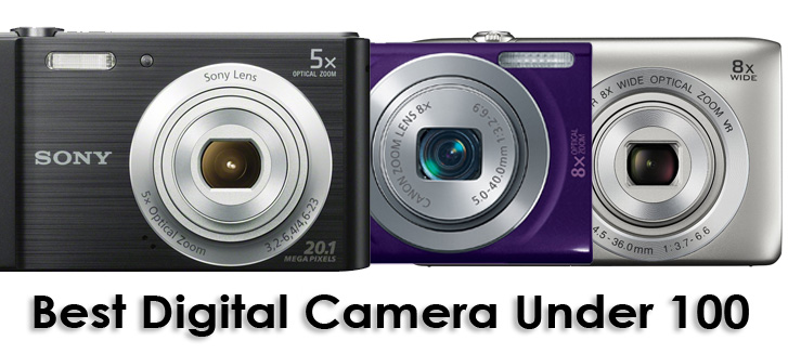 Best Digital Camera Under 100