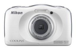 Nikon-COOLPIX S33 Digital Camera (Waterproof)