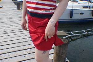 Key West Sabrina Nederdel