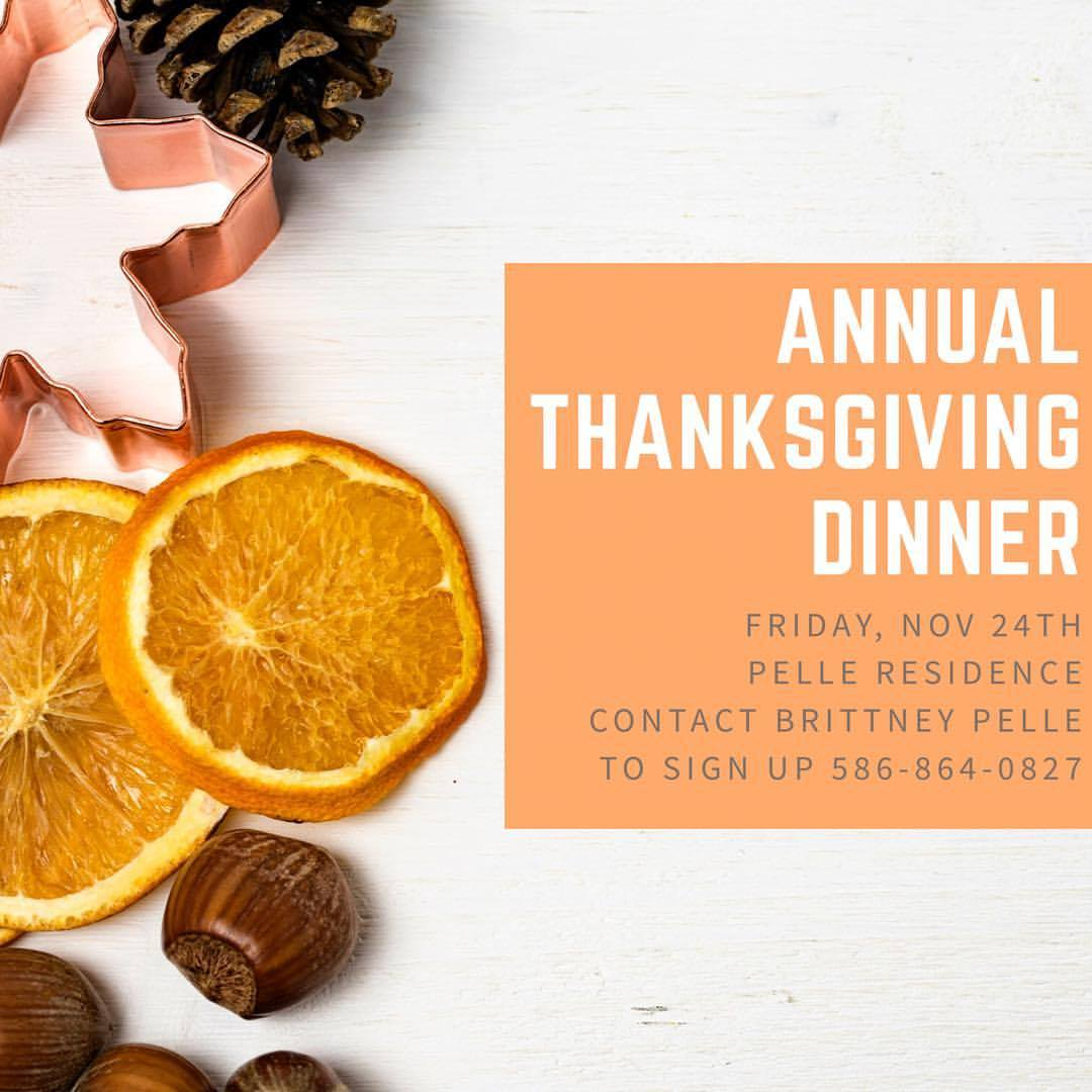 Annual Thanksgiving Dinner Byouth