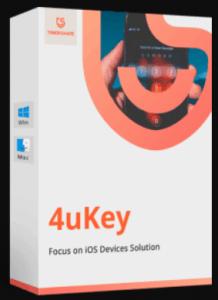 Tenorshare 4uKey 2.1.1 Crack License Key + Registration Code till 2050