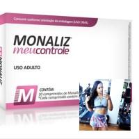 Controle seu apetite com MONALIZ da Sanibraz