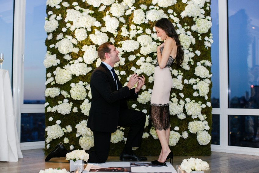 Mondrian Soho luxury marriage proposal photographer Petronella Photography