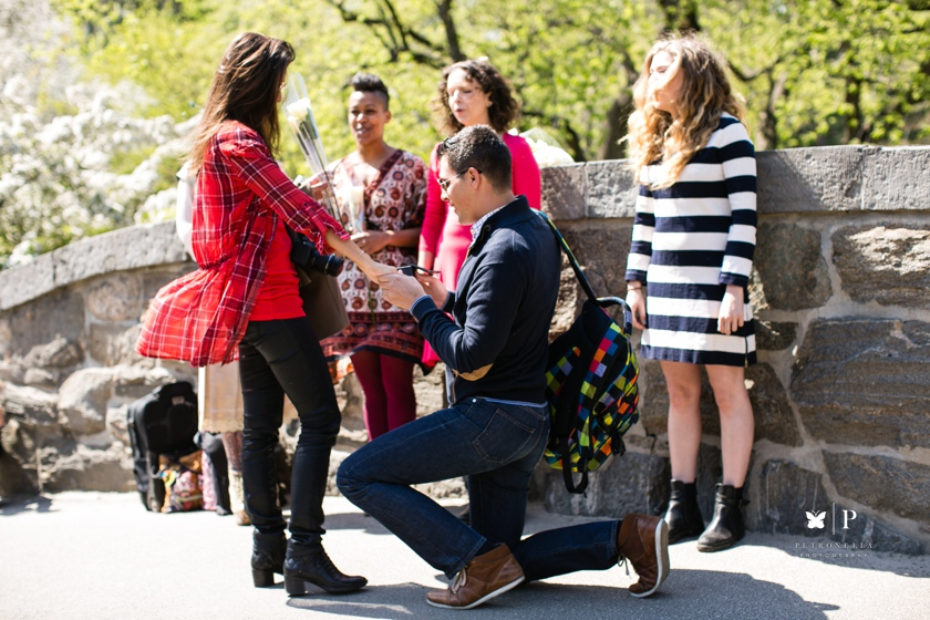 How Ali Proposed with an Acapella Unchained Melody Serenade - Central Park marriage proposal (8)