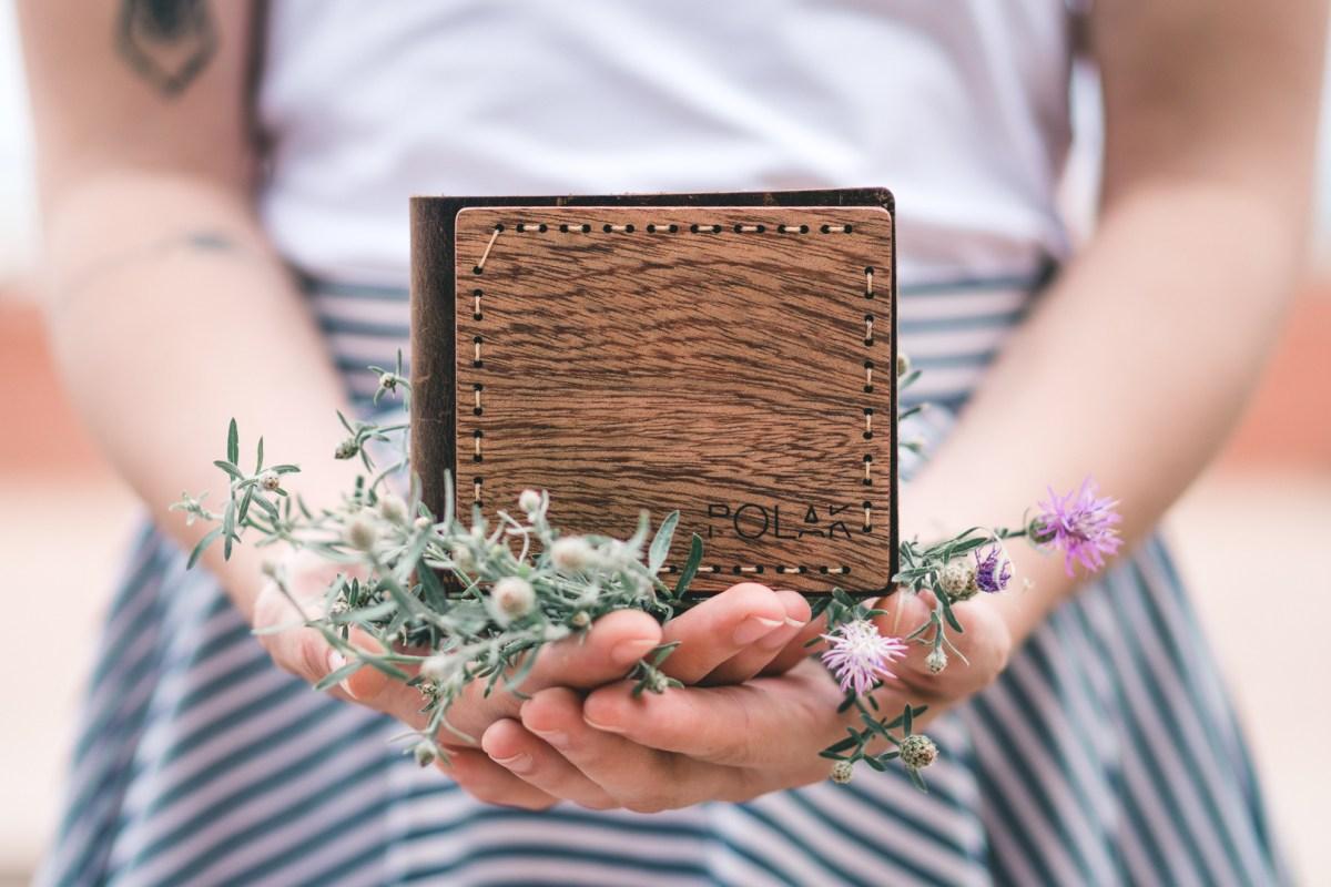 Kožená peněženka - Koi no yokan
