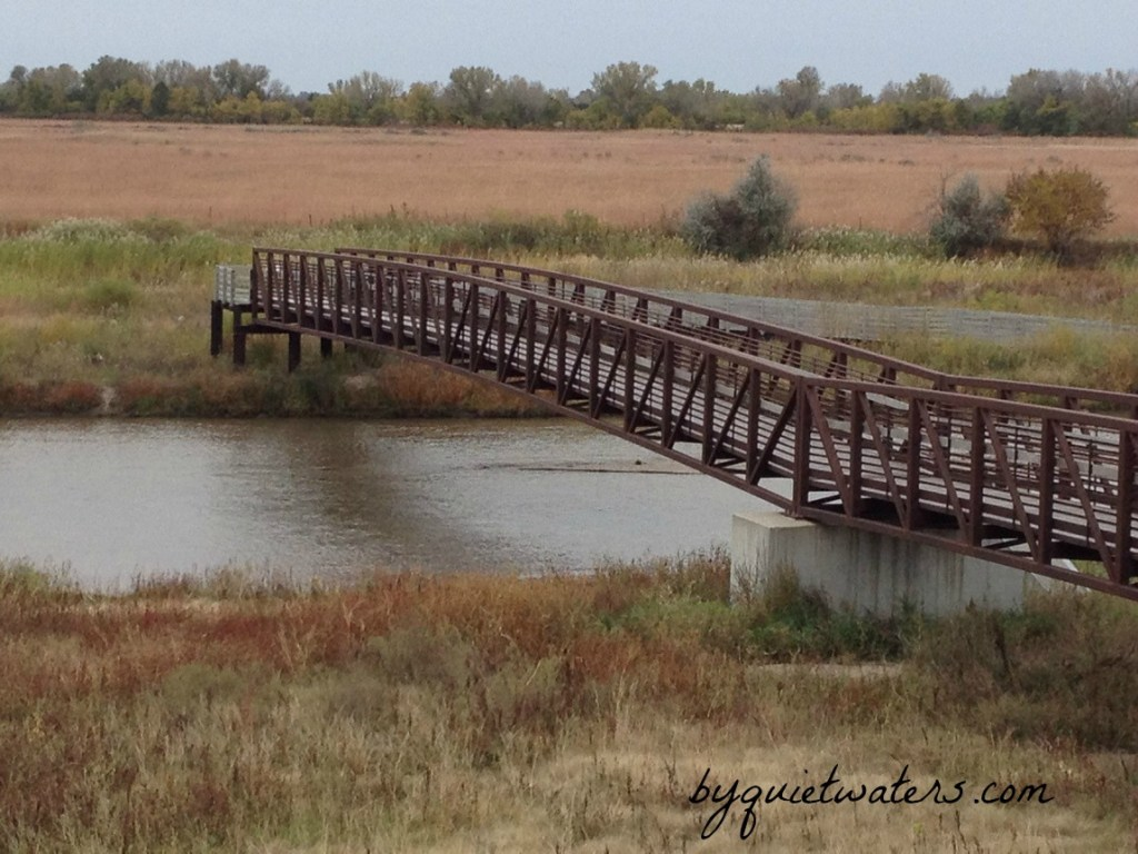 Bridge over water nebraska