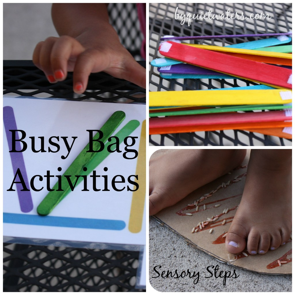 busy bags keeping little one positively busy