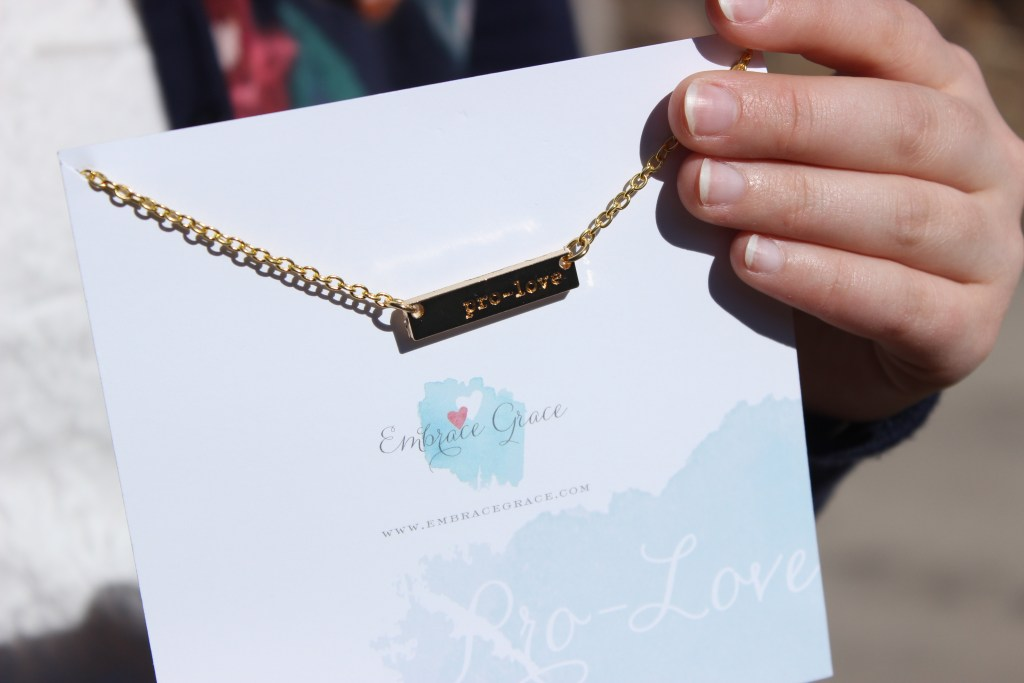 Love in a Box necklace