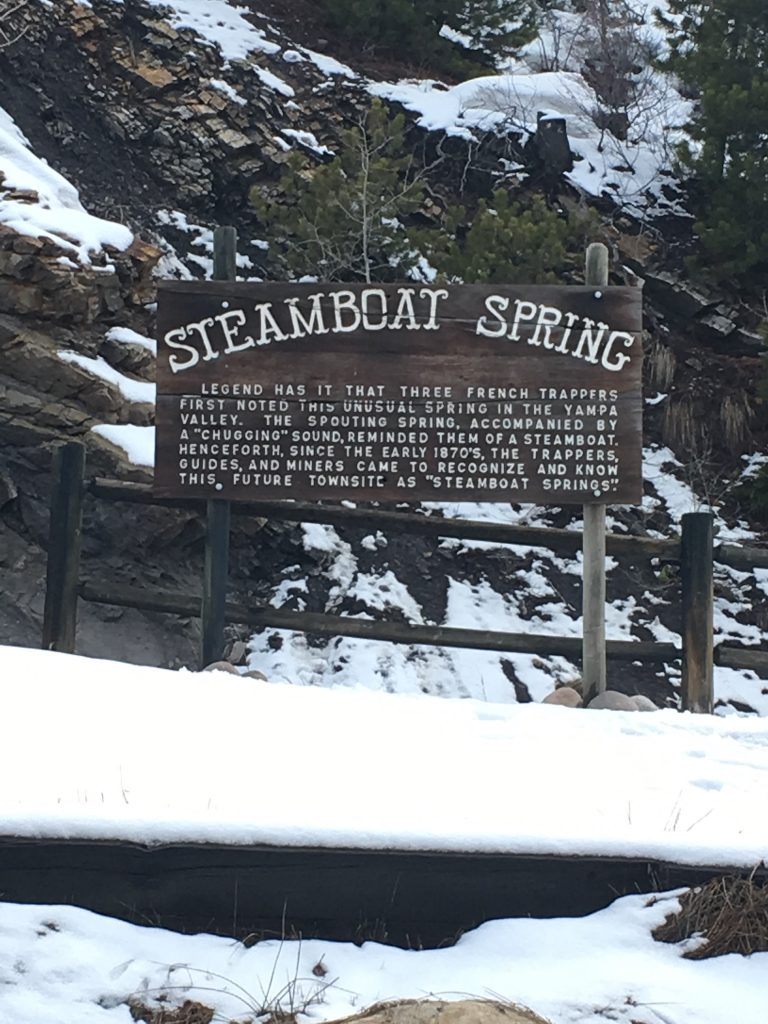 Steamboat Springs Hot Springs