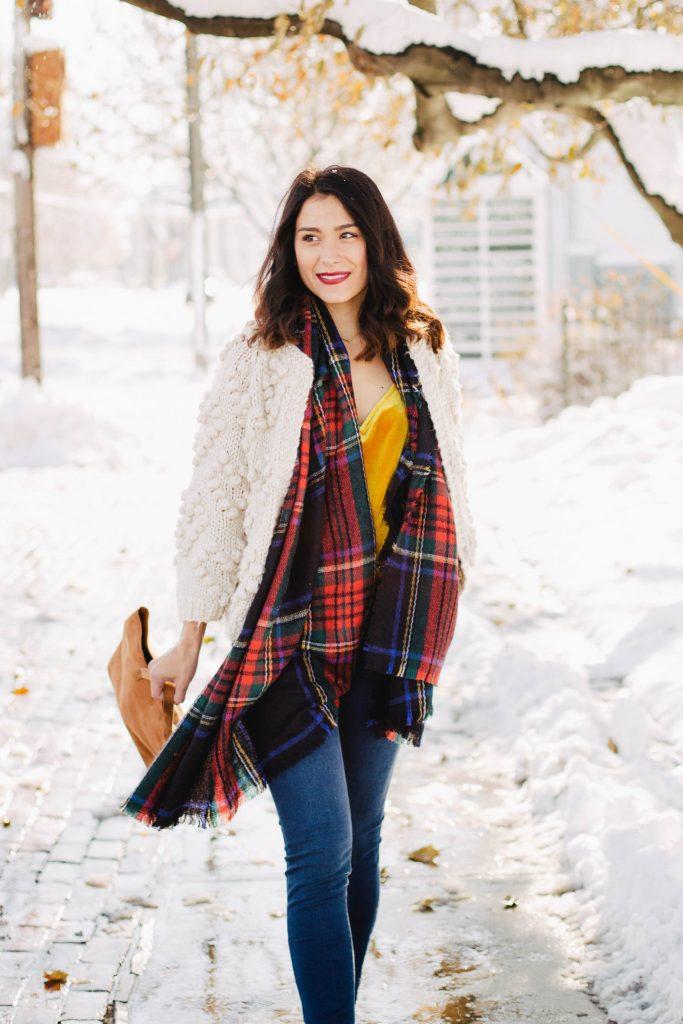 Knit Your Love Cardigan + Ja-vie Leopard Flats
