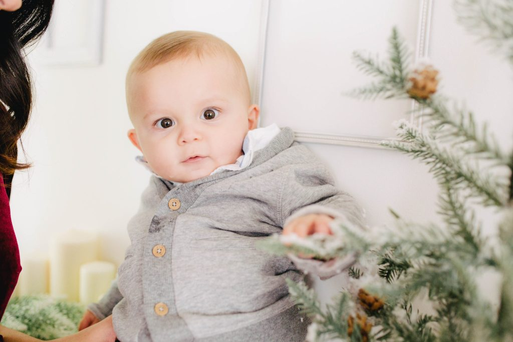 Mom & Baby Holiday Outfit Idea