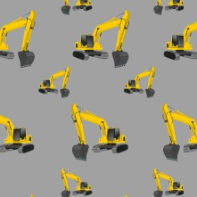 Excavator grey