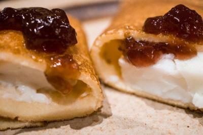 Crepes Egg Sausage Macro