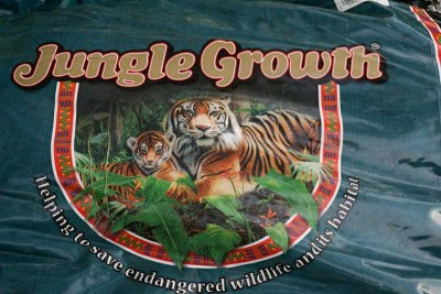 Jungle Growth Label