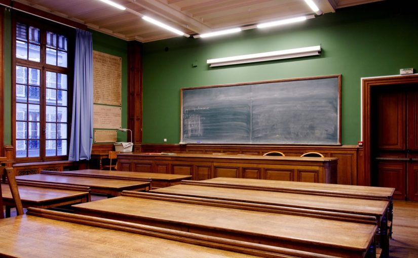 "Main room of the École nationale des chartes, Paris. © Marie-Lan Nguyen / Wikimedia Commons / CC-BY 2.5. From Nick Byrd's ""Grad School, Part 2: Academic Jobs"""