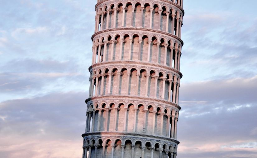 "A picture of the tower of Piza. From Nick Byrd's ""Is Philosophical Reflection Ever Inappropriate?"""