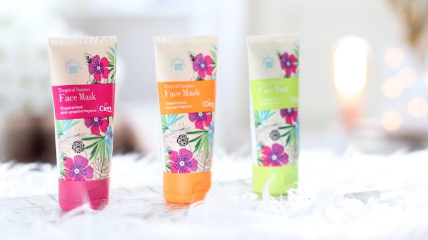 Lidl gezichtsmaskers | Tropical Summer Face Mask by Cien
