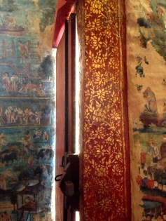 Wat Prah Singh is famous for its Buddhas, but also for its murals