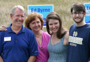 Ed Byrne and Family