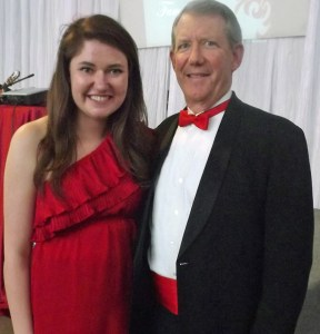 Erin and Ed at UPS Alpha Phi Red Dress Gala (2013)