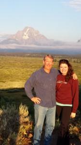 Ed and Erin, Jackson Lake lodge (2013)