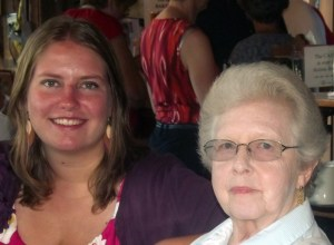Kathleen and Nana (Jean Byrne), 2012