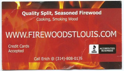 Excellent, seasoned firewood every delivery!