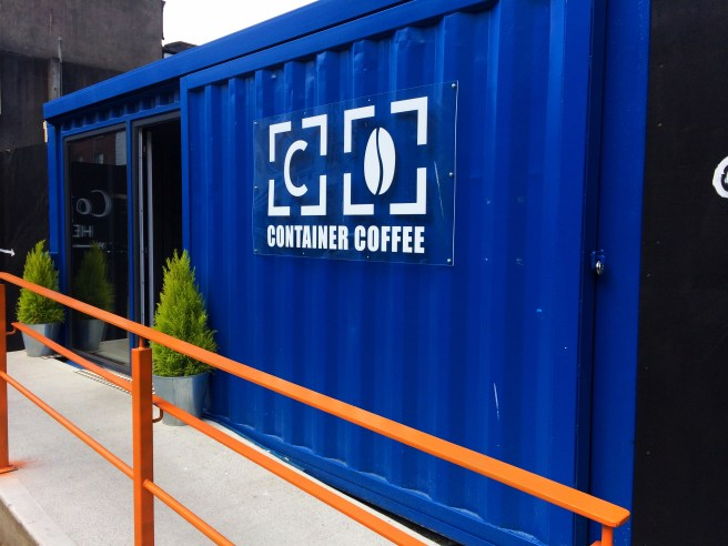 Container Coffee front