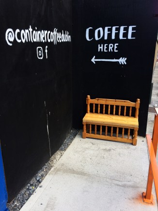Container Coffee wall 2