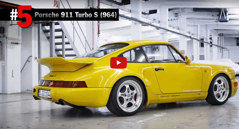 Top 5 porsche models ever built