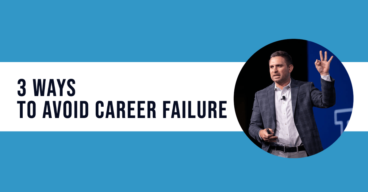 avoid career failure in real estate