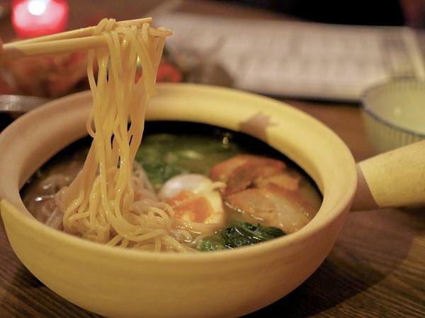Ramen noodle Amsterdam Cha House restaurant