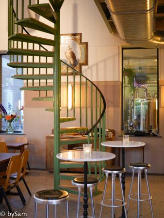 Poesiat en Kater bierbrouwerij Amsterdam Oost proeflokaal