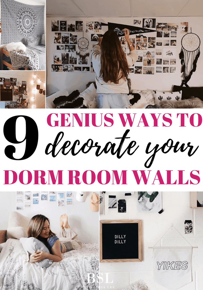 Dorm Room Wall Decor   9 Genius Ways To Decorate Your Dorm Room     Dorm Room Wall Decor   9 Genius Ways To Decorate Your Dorm Room Walls