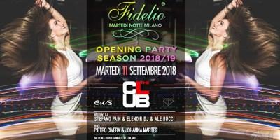 Fidelio Opening Party | The Club Milano - 11.09.2018
