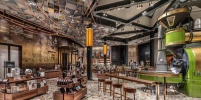 Starbucks Reserve Roastery, piazza Cordusio - Interni