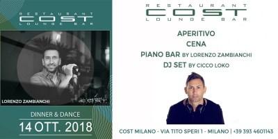 Aperitivo Pianobar | La Domenica del Cost Milano