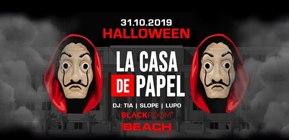 Halloween The Beach Milano - Info +39 393 4601143 anche whatsapp