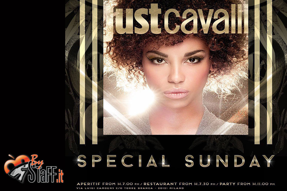 Domenica 25.11.18 Just Cavalli