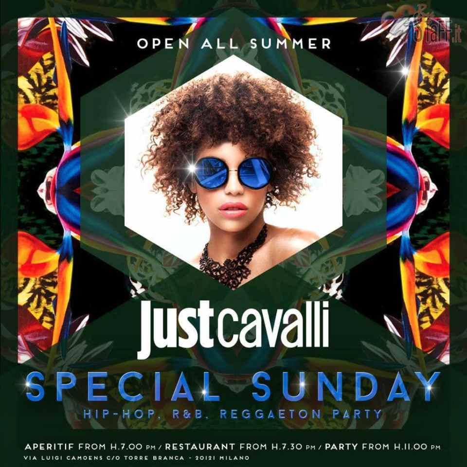 Domenica Just Cavalli Milano. Ristorante, Aperitivo e Lounge Bar +39 3934601143
