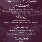 Menu The Beach Milano   Info e prenotazioni +39 393 4601143