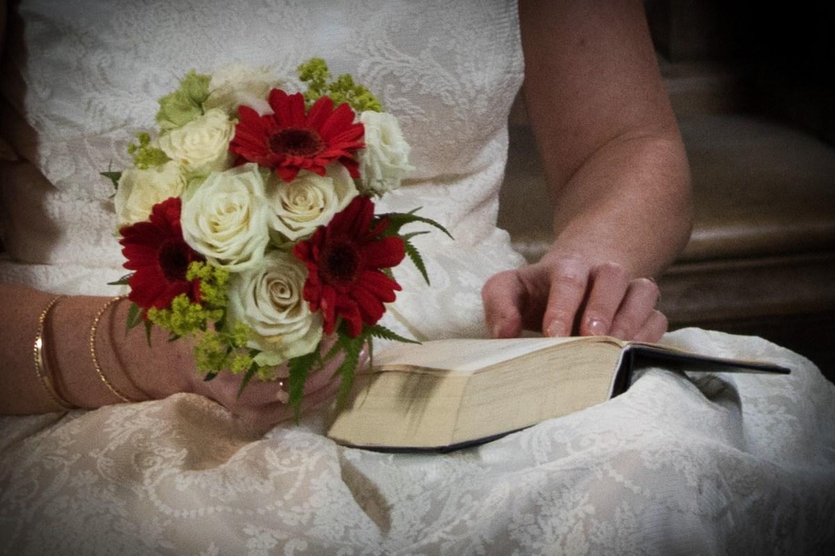 Maria og Kristians bryllup - salmebog