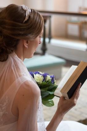 Tine og Allans bryllup - salmebog